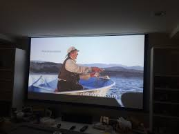 4k home theater projector home theater 100 u2033 screen and 4k hd projector installation