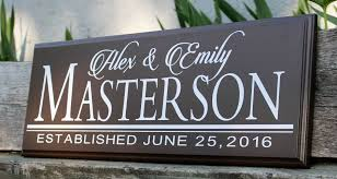 Personalized Wedding Plaque Wedding Sign Wood Wedding Plaque Bridal Shower Decorations
