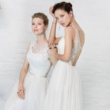 kelsey rose chic dresses for modern bridesmaids and brides