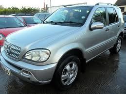 mercedes ml 270 cdi auto 2003 silver just out off mot in dromore