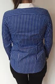 women u0027s blue oasis shirt with white pin stripes www love2dress co uk