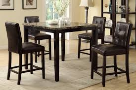 Counter High Dining Room Sets by P2339 Table 4 Chairs 2339 1144 Poundex Counter Height Dining