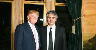 Blind Italian Singer Time To Say Goodbye Andrea Bocelli Fans Vow Boycott If He Sings At Trump Inauguration