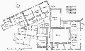 Easton Neston Floor Plan by Parishes Bisham British History Online