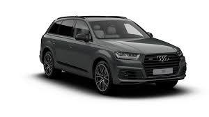 Audi Q7 Specs - audi uk adds new vorsprung and black edition specs to q7 range