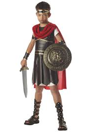 Boy Costumes Halloween Child Hercules Costume Holidays Roman Soldier