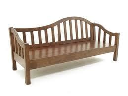 canapé en bois canapé en bois massif