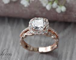 bridal ring set bridal sets etsy