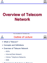overview of telecom network telecommunication general packet