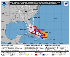 Hurricane Tracking Map Hurricane Irma Florida Hurricane Watch Expanded As Irma Nears