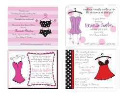 photo printable lingerie shower invitation image