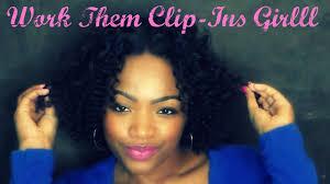 owigs clip ins my bantu knots diy clip ins on hair tutorial