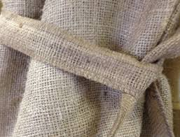 fabric canada yes burlap curtains and burlap drapes now made in