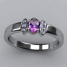 one mothers ring christopher michael designed one oval mothers ring with diamond