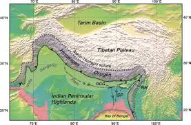 Himalayan Mts Map 2 Major River Systems Of India Himalayan And Peninsular River