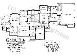grand demeure house plan house plans by garrell associates inc