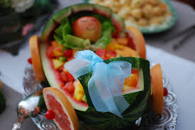 baby shower fruit salad home design