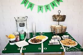 Diy Football Decorations Football Party Ideas Food Decorations U0026 More