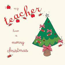 homely ideas christmas cards for teachers stylish design teacher