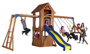 Metal Backyard Playsets The 9 Best Backyard Swing Sets For Kids To Have Fun Babydotdot