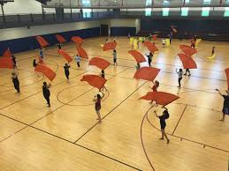 Spin Flag 2015 Spin Clinic Allegiance Color Guard