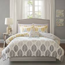 Bedspreads And Comforter Sets Madison Park Essentials Pelham Bay Yellow Aqua Complete Comforter