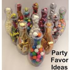 candy containers for favors mini bowling pin candy container party favor 12 pack with free 2 3