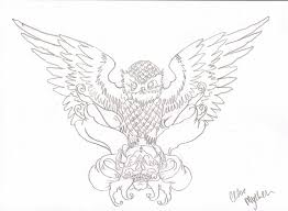 baby owl tattoo sample real photo pictures images and sketches