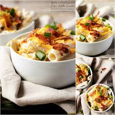 chicken bacon ranch cold pasta salad