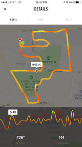 Map Run Route by Nike Run Club App No Route Map Showed Who Else Macrumors Forums