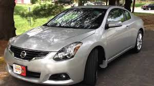 nissan altima white 2012 2012 nissan altima coupe v6 review walk around start up u0026 rev