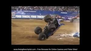 monster truck crash videos youtube unbelievable monster truck crashes youtube