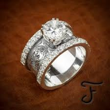 western style wedding rings engagement rings fit for a magazine