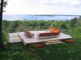 backyard deck furniture home outdoor decoration