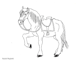 rachel maybeth free horse unicorn and pegasus coloring pages