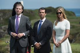 by linking trump with hate groups clinton spotlights the how donald trump s sons are emerging from ivanka s shadow fortune