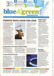 green financial blue and green tomorrow issue 1