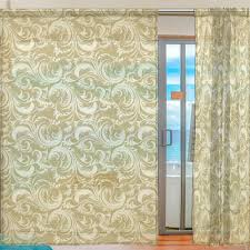 2 pieces beautiful sheer curtains for living room bedroom children