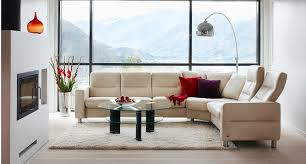 High Back Sectional Sofas by Ekornes Stressless Wave High Back Sofa Ambiente Modern Furniture
