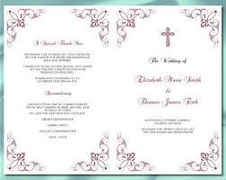 Catholic Wedding Booklet Royal Blue And Silver Wedding Program Template Printable