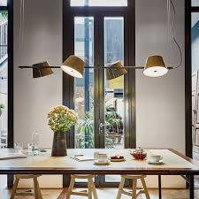 Dining Lighting This Playful Fixture Provides Direct Indirect Or Diffused