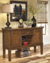 casual dining room server with wine rack by signature design by