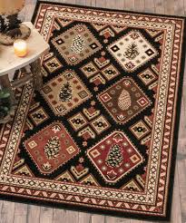 Rustic Lodge Rugs Warm Log Cabin Rugs Remarkable Decoration Rustic Cabin Lodge Rugs