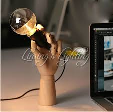 How To Make Wooden Desk Lamp by Online Buy Wholesale Diy Robot Wooden Desk Lamp From China Diy