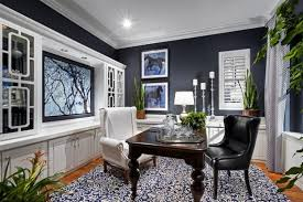 color of the day deep royal blue home offices benjamin moore