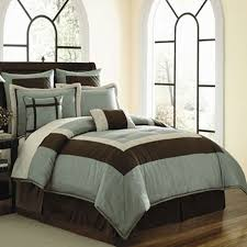 Blue And Brown Bed Sets 44 Best Brown And Blue Bedding Images On Pinterest Comforters