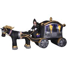 inflatable halloween lawn decorations carriage coach by rating