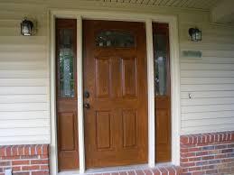Stain For Fiberglass Exterior Doors Remarkable Front Door Exterior Design Ideas Presents Stunning