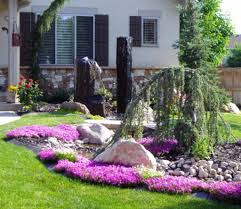15 easy ideas for front yard landscaping home designs
