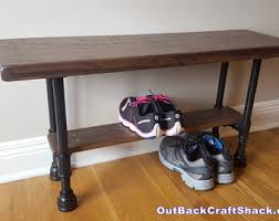 Entryway Bench Furniture Industrial Bench Etsy